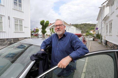 SKUFFA: Ordfører Per Kr. Lunden sier han skjønner at de næringsdrivende er skuffa, men ber de se forbi skuffelsen og fremover.