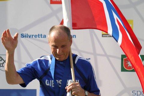 VERDENSMESTER: Ingebrigt Sørbø, her fra et tidligere VM, vant VM-gull i italienske Val di Fiemme.