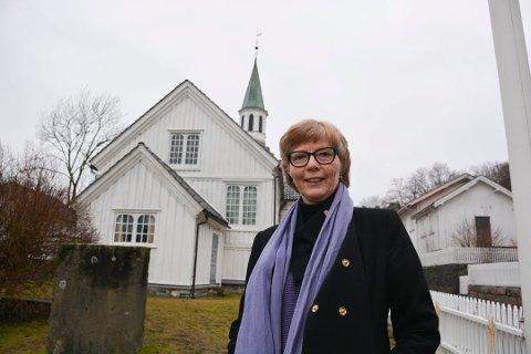 Inger Øybekk gikk av med pensjon 1. oktober. Derfor leter nå Aust-Nedenes prosti etter ny sogneprest i Risør.