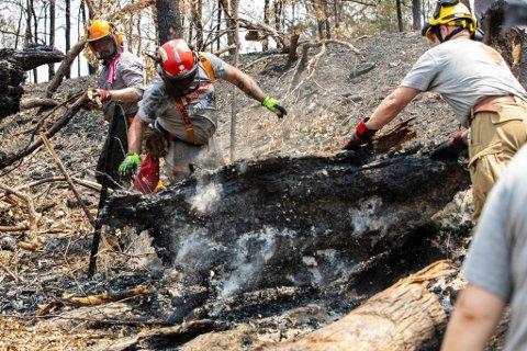 Team Rubicon Norge skal sende fem hjelpearbeidere til de brannherjede områdene i Australia. Frank Sandbye-Ruud fra Risør var nede i Australia før jul, og er klar til å reise ned igjen.