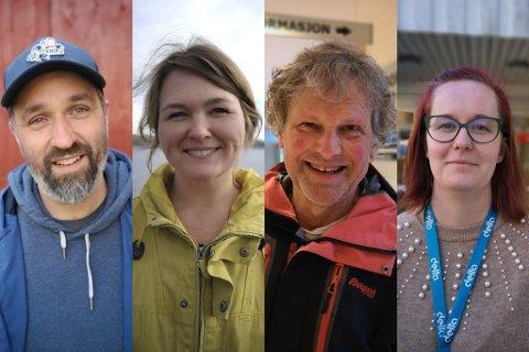 SI IFRA: Andrew Windtwood, Frida Fred Dørsdal, Knut Henning Thygesen, bystyrerepresentanter for Rødt Risør, Hanne Trine Ellefsen, Rødts representant i Livsløpskomiteen.