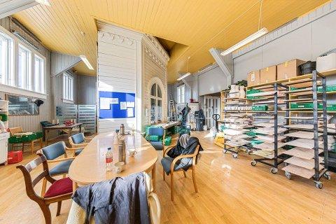 GAMMEL GYMSAL: I 1883 ble bygningen i Prestegata 9 oppført som gymnastikksal.