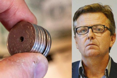 TØFFE TIDER: Kommunedirektør Trond Aslaksen kniper igjen pengesekken, men foreslår ingen store, dramatiske kutt i sitt forslag til økonomiplan og handlingsprogram for de neste fire åra.
