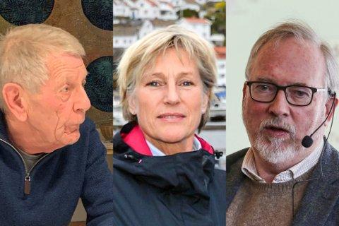 MER INNSYN OG MEDVIRKING: Kommunalsjef Søs Nysted (midten) måtte tåle å bli utfordret på politikernes innsyn og medvirkning i oppvekstsektoren i sist bystyremøte, der blant annet Oddvar Mykland (t.v) og ordfører Per Kr. Lunden (Ap) engasjerte seg.