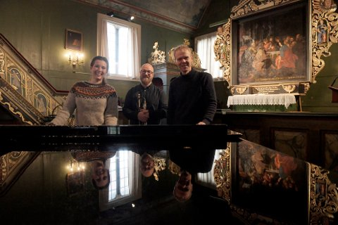 Ingrid Vetlesen, Eirik Dørsdal og Tor Morten Halvorsen kan høres i fire kirker i førjulstida. De gleder seg til å møte publikum etter et turbulent år.