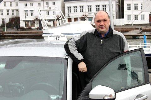 VIL BLI KOMMUNEDIREKTØR: Kjetil Skjeie fra Risør har tidligere søkt lignende jobber, nå prøver han lykken i Drangedal.