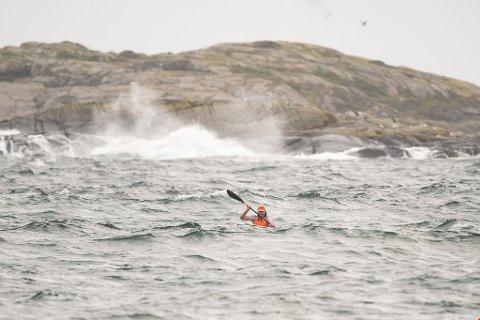 HJERTEBANET: Bengt Otto Adeler (bildet) selv aktiv i surfski. I fjor ble han nummer seks i NM i Arendal. Nå før han årets NM til Risør.