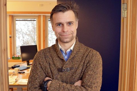 KREVENDE MEN I PLUSS: Økonomisjef Halvor Halvorsen forteller at kriseåret 2020 til tross; kommunen landet et regnskap i pluss - med god margin.