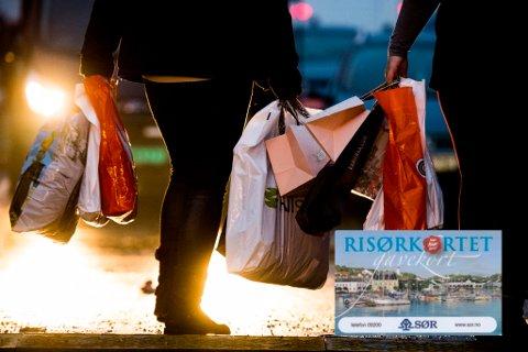 """SHOPPING: Flere gavekorteiere opplevde i helgen å få """"avvist"""" da de forsøkte å bruke gavekorta de hadde fått. Problemene skal ha vært hos kortets leverandør, og skal være helt i orden igjen nå, forsikrer Risør By AS."""