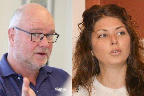 INVITASJON ELLER IKKE: Høyres gruppeleder Kai Strat er ikke fornøyd med at det hevdes at hans parti ikke vil samarbeide - de har ikke blitt invitert, sier han. Lauvhjell på sin side sier de inviterte Høyre til dialog om hverandres budsjettpakker.