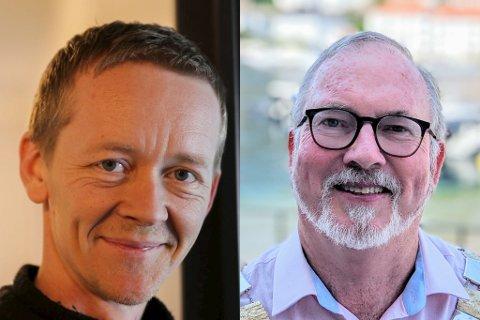 ENIGE: Magnus Stø Kittelsen (FrP) ønsket Urheia og radarbunkersen på dagsorden. Det er ordfører Per Kr. Lunden (Ap) helt enig i, og ber kommunedirektøren utrede en sak.