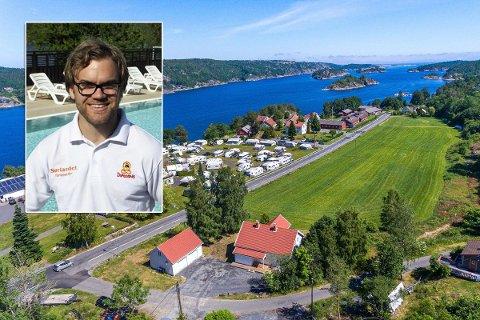 SATSER: Sørlandet Feriesenter, her ved Ole Marius Sandnes, har kjøpt to naboeiendommer.