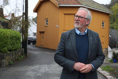 DRAMA: Ordfører Per Kr. Lunden i Risør, som også leder det interkommunale plansamarbeidet for ny E18, forteller at han fortsatt håper reguleringsplanen kan gå ut på høring som planlagt - men at det er opp til veiutbyggeren Nye Veier.