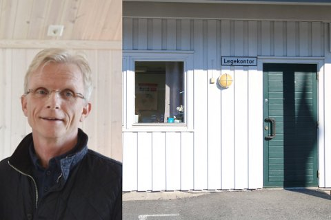 PÅ'N IGJEN: Da søknadsfristen for ny lege på Søndeled gikk ut 30. juni hadde Per Christian Andersen fått inn null søknader. Nå er den lyst ut - nok en gang.