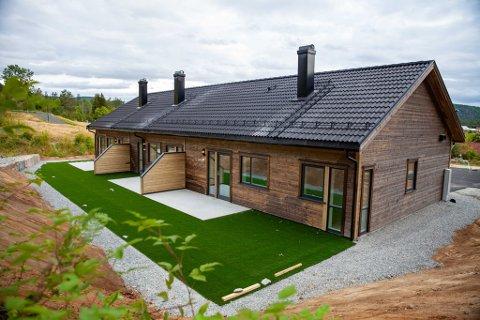 Den nye kommunale tremannsboligen sto i starten av september klar i Enghola i Gjerstad.
