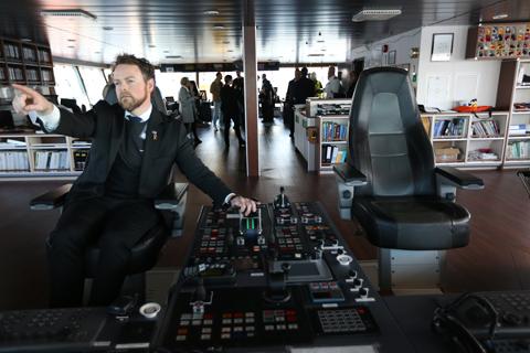 Med denne meldingen skal vi peke ut retningen for den maritime politikken fremover, sier næringsminister Torbjørn Røe Isaksen (H).