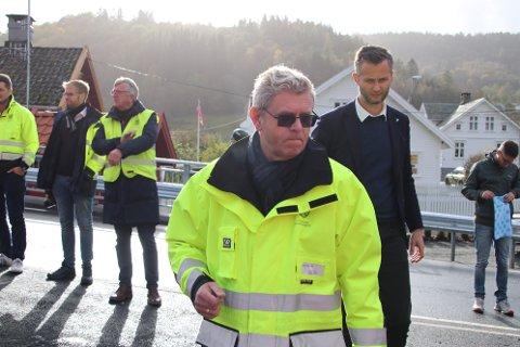 SJEFEN I VEST-AGDER: Frem til nyttår er det fylkesordfører Terje Damman (Uavh.) som leder Vest-Agder fylkeskommune.