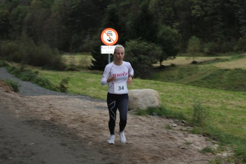 PERSET: Eva Merete Gotheim fra Kvinesdal satte ny personlig rekord i sin andre start i Svalandsgubben over 27 kilometer.  ARKIVFOTO: ROY HARBAKK