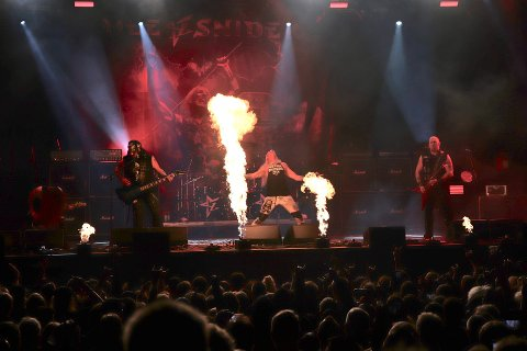 I FJOR: Dee Snider var en av dem som spilte på rockefestivalen i fjor. Lørdag kickstartes festivalen med bandslipp.