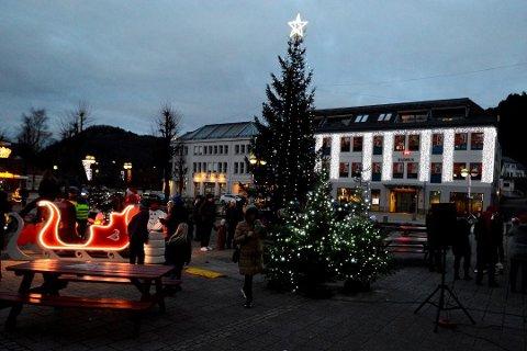 GOD JUL: Det er mye som tyder på at det blir en innholdsrik jul i Kvinesdal.