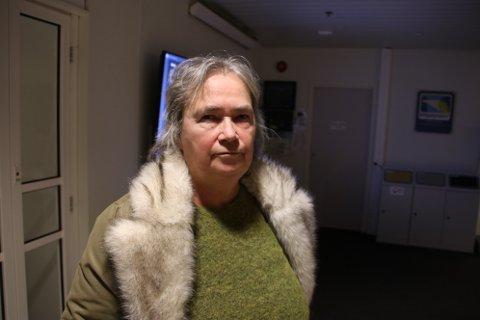 FINNER SAMMEN: Nina Danielsen (Sp) har tro på at Høyre, Venstre, Sp og KrF kommer til å lage et flertallsforslag til budsjett for Flekkefjord.