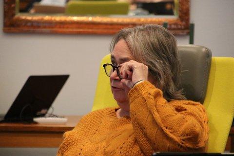 MER TID: Nina Danielsen (Sp) krever at høringsfristen for endringer og detaljplan for Skorveheia forlenges.