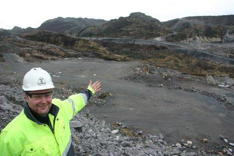 TIL NORDAN: Knut Petter Netland har vært gruvesjef hos Titania. Nå blir han fabrikksjef på Moi.