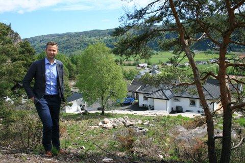 VIKTIG: Ordfører Per Sverre Kvinlaug synes det er et viktig tiltak å få fart på tomtesalget i kommunen