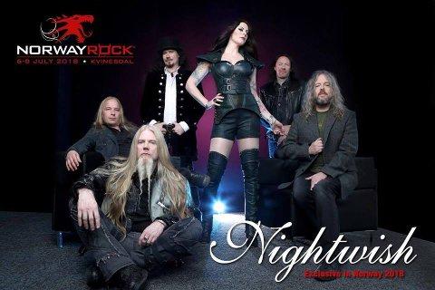 Nightwish vender tilbake