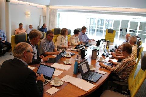 NYE RETNINGSLINJER: Formannskapet i Flekkefjord diskuterte i dag retningslinjer for næringsfondet.