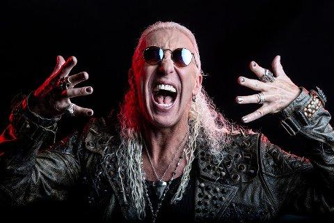 HEADLINER: Dee Snider er en legende i rockemiljøet, og lørdag kveld spiller han i Kvinesdal.