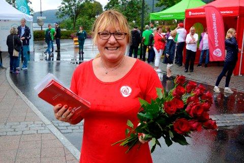 GLEDE: Lund Ap sin ordførerkandidat, Ann Sissel Haukland, vil gjøre det så godt som mulig å bo i kommunen slik at innbyggerne opplever livsglede gjennom hele livet.