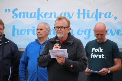 AKTIV VALGKAMP: Seinar Dyrli (SV) er toppkandidat for SV i fLekkefjord og 10. kandidat på valget til fylkestinget i det nye Agder fylket.