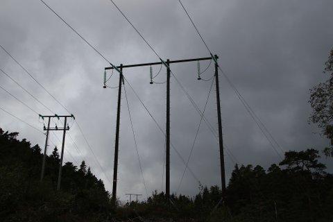 FORSTERKER: Agder Energi Nett har ansvar for å bygge regionalt nett som både tåler økt produksjon og strømforbruk. Nå vil de styrke forbindelsen fra Rafoss til Gjemlestad.