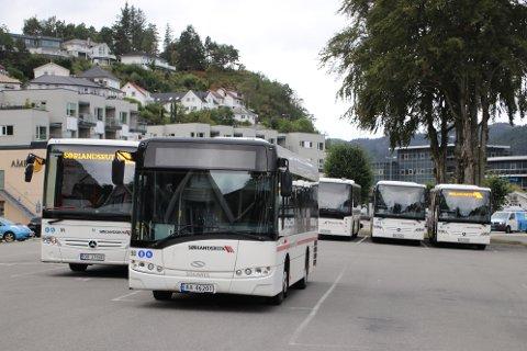 BEDRE TILBUD: Flekkefjord kommune ønsker et bedre busstilbud i regionen og mer sikker bussforbindelse til og fra tog.