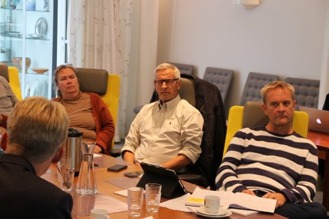 VALGTE FORHANDLERE: Formannskapet kom frem til hvem som skal representere kommunen i forhandling med Skorveheia.
