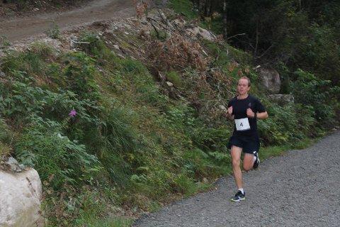 RASKEST: Bjørnar Stenberg tok en ny seier i terrengkarusellen. ALLE FOTO: ROY HARBAKK