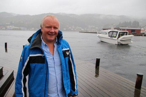 BRA MED SØKERE: Næringssjef Hans- Egill Berven er godt fornøyd med at det er så mange søkere og at det er penger i fondet til å gi litt drahjelp til etablering av ny aktivitet.