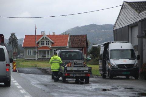Bilførere med båthengere, hestehengere og andre tilhengere ble stoppet for kontroll på Øyesletta fredag ettermiddag.