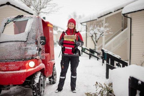 AVISBUD: Posten er tildelt oppgaven med å distribuere aviser i Norge.