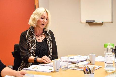 FORMANNSKAPET: Fungerende ordfører Gro Helleland (KrF) vil ta opp støtten til Nor-Dan Hallen i formannskapet.