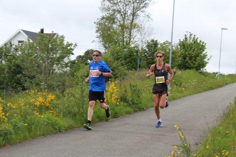 GODT LØP: Kristian Tjørnhom gjennomførte maratonløpet ved Jessheim på 2.31,55, men denne gang klarte ikke løperen fra Kvinesdal å perse.