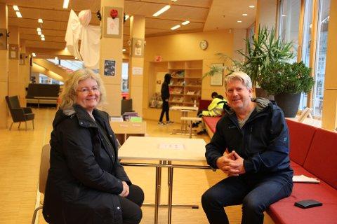 FLERE TILTAK: KrF-politikerne Unni Å. Kydland og Glenn Tønnessen jobber for å få flere ungdomstiltak i Flekkefjord.