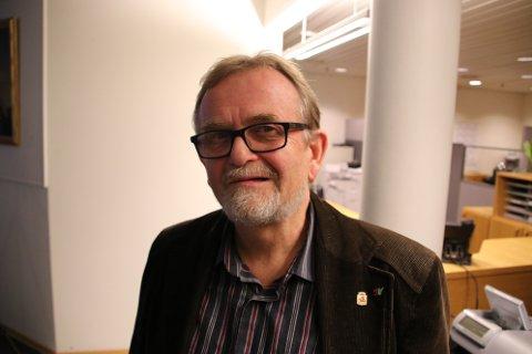 FORNØYD MED LISTA: Steinar Dyrli (SV) er nummer åtte på nominasjonslista til Stortinget.