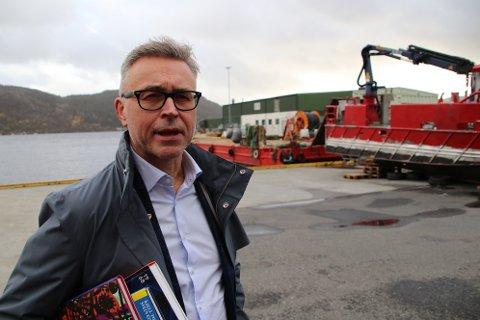 STRAMMER INN: Fiskeri- og sjømatminister Odd Emil Ingebrigtsen slår fast at det blir forbudt å fiske direkte etter torsk i 2021.