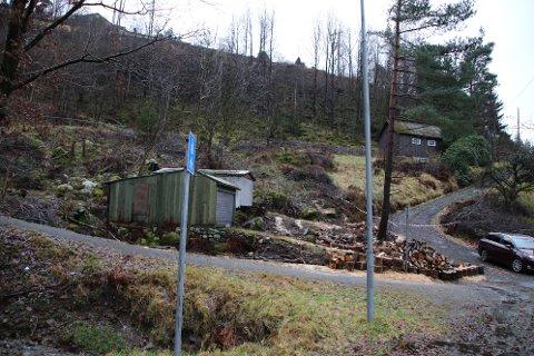 NY LØSNING: Grusveiene som i dag er gangveier opp til Kråketona blir lagt om den første delen fra Stangsvingen.