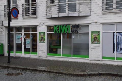 Kiwi-butikken hadde stengt sist uke etter at det ble gjort funn av en eller flere rotter.