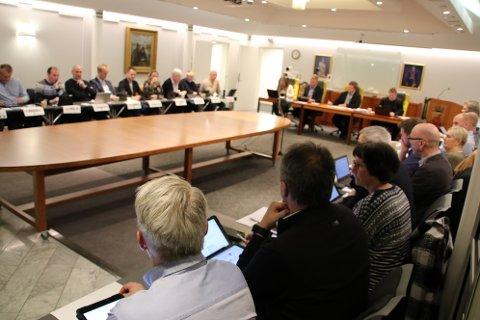 KRITIKK: Det var flere i bystyret som ønsket å gi uttrykk for en kritisk innstilling til det planlagte vindkraftverket på Skorveheia.