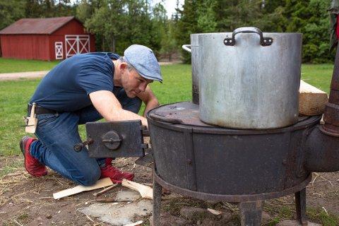 LOKALT FJES: Erik Alfred Tesaker vant Farmen kjendis.