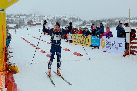 SISTE VINNER: Sjur Obrestad Gabrielsen fra Sandnes IL vant Sesilåmi i 2019. Foto: Tor Magne Gausdal